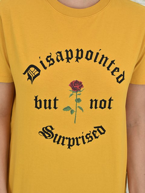 Tshirt Disappointed