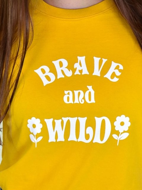 Tshirt Brave and Wild