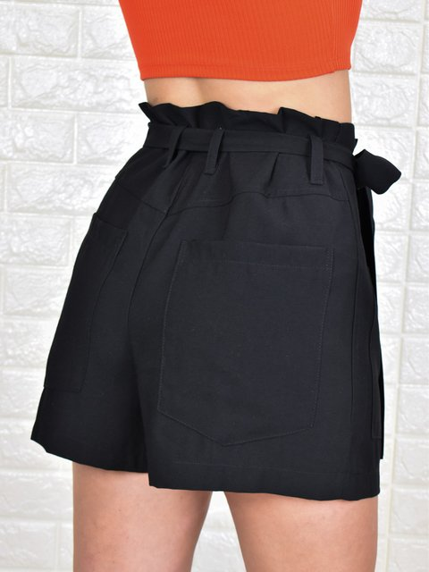Short Clochard Com Bolsos