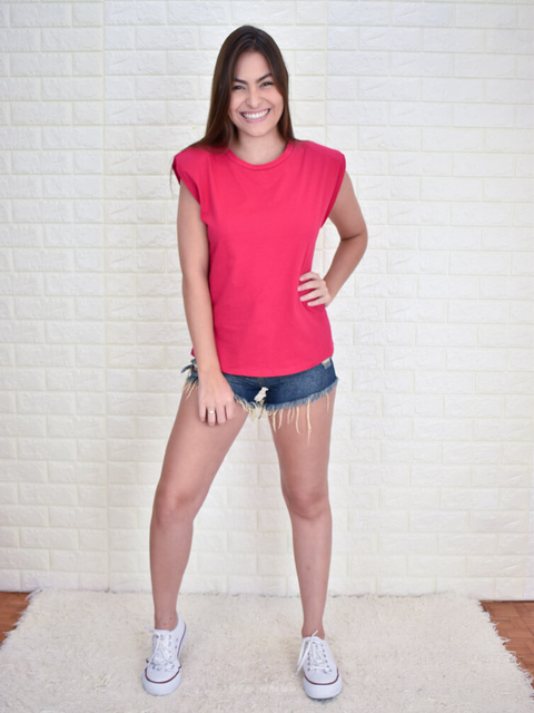 Muscle Tee Pink