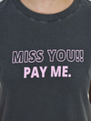 Tshirt Cropped Miss You