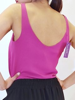 Musculosa Plum - ANOTHER DAY