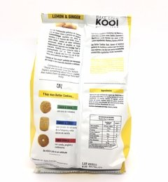 KOOI. Galletitas Lemon & Ginger. 180 gr. - comprar online