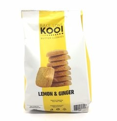 KOOI. Galletitas Lemon & Ginger. 180 gr.