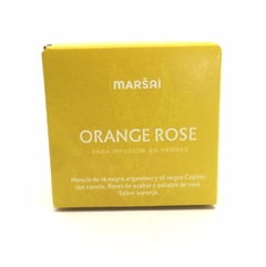 marsai. Orange Rose. Tea Box 25 grs. - comprar online