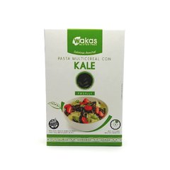 Wakas Pasta Multicereal Kale 250g. Sin TACC