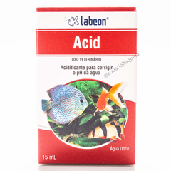 Alcon Labcon Acid 15ml regula o ph e acidez do aquário - comprar online
