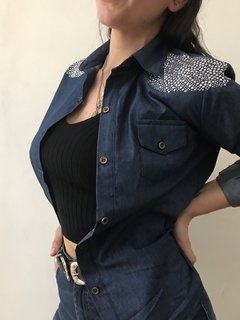 Camisa Denim Malena en internet