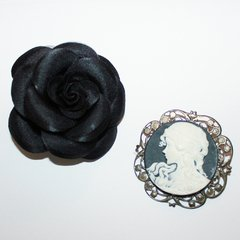 2 BROCHES RETRÔS - comprar online