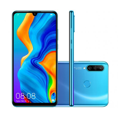 "Smartphone Huawei P30 Lite Android 9.0 6.15"" Octacore 128GB 4G 24MP+8MP+2MP Dual Chip na internet"