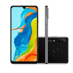 "Smartphone Huawei P30 Lite Android 9.0 6.15"" Octacore 128GB 4G 24MP+8MP+2MP Dual Chip - loja online"