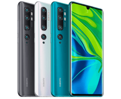 Smartphone Xiaomi Mi Note 10 128GB Versão Global