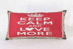 Almofada Mini Keep Calm Love - comprar online
