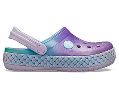 Crocband™ Kids'  Mermaid Metallic Clog - Crocs Sereia - comprar online