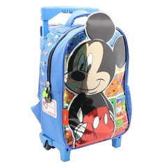 Mochila Mickey Mouse infantil smile fun con carro - Cresko