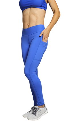 Leggings básica de Supplex con bolsillo en el lateral de una pierna - comprar online