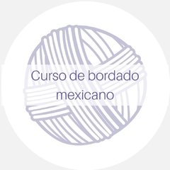 Curso on line de bordado mexicano