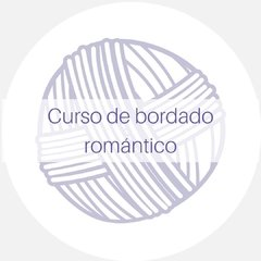 Curso de bordado romántico on line