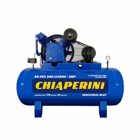 COMPR.AR 20 PES BLUE RCH200L C/MT 5HP 220/380V IP21