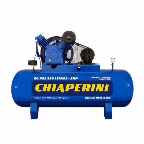 COMPR.AR 20 PES BLUE RCH250L C/MT 5HP 220/380V IP21