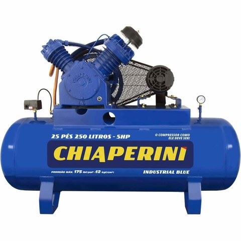 COMPR.AR 25 PES BLUE RCH250L C/MT 5HP 220/380V IP20