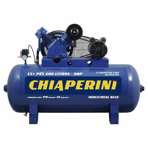 COMPR.AR 15+PES BLUE RCH200L C/MM 3HP 110/220V IP21
