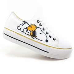 Imagem do Tênis Plataforma  Converse All Star Snoopy