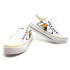 Tênis Plataforma  Converse All Star Snoopy