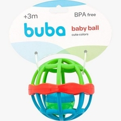 CHOCALHO BABY BALL CUTE COLORS BUBA