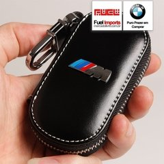 Chaveiro Bmw Motorsport M3 Couro Legítimo Case #113 - FUEL IMPORTS®