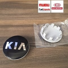 Roda Calota Central Kia Sportage 58mm Original Kit 4 Un #706