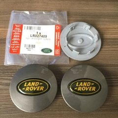 Kit Calotas Roda Land Rover Range Grafite 63mm Original #411