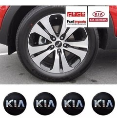 Roda Calota Central Kia Sportage 58mm Original Kit 4 Un #706 na internet