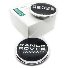 Kit 4 Calota Centro Roda Land Rover Range 63mm Original®