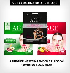 SET ACF TRIOS BLACK