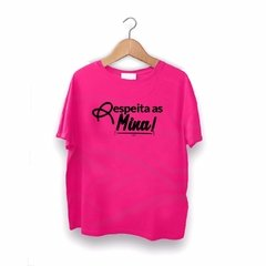 T-shirt Respeita as Mina