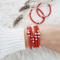 Pulsera Protected Red