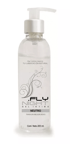 Gel Natural Neutro Vaginal Fly Night 200 Ml