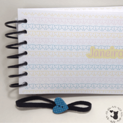 Imagem do Mini Planner A6 - Capa plastificada (permanente)