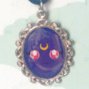 Colar Camafeu Luna - Sailor Moon