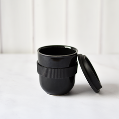 BLACK MUG (HOME & TAKE AWAY) - tienda online