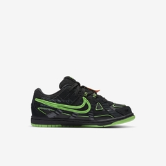 Tênis Nike Air Rubber Dunk x  Off-White Green Strike / Infantil