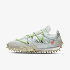 Tênis Nike x Off White Waffle Racer - Branco/Verde