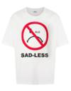 CAMISETA ÀLG OVERSIZED SMILEY SAD-LESS - BRANCO
