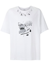 CAMISETA ÀLG OVERSIZED RATSUO EYES - BRANCO