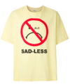 CAMISETA ÀLG OVERSIZED SMILEY SAD-LESS - Amarelo