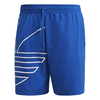 SHORTS ADIDAS  BIG TREFOIL - AZUL