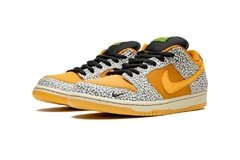 "Tênis Nike SB Dunk Low ""Safari"" na internet"