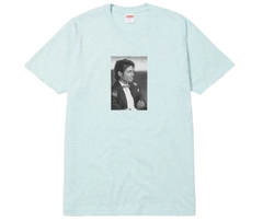 camiseta Supreme Michael Jackson - Heather Turquoise