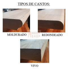 ESCALON DE MADERA - MADER SHOP